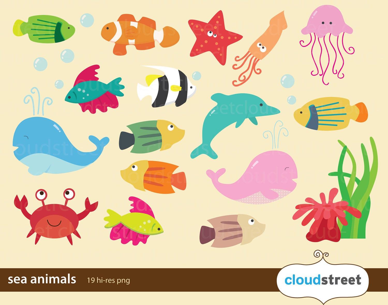 free clip art marine animals - photo #23