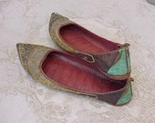 Exotic Antique Indian Shoes Collected by An American Missionary in the 1930s