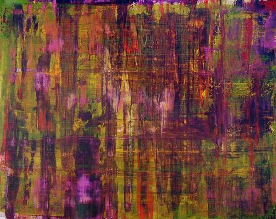 fall tweed ACRYLIC on CANVAS SHEET