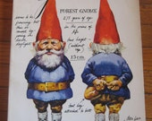 Illustrated Gnomes book