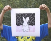 Limited Edition Rabbit Art Print