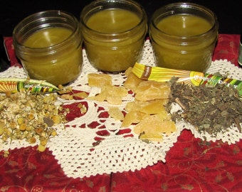 Salve Anti-Itch ANY skin conditions/Burns  blisters, blemishes  WhatAilsYourSkin /new LOWER PRICE!