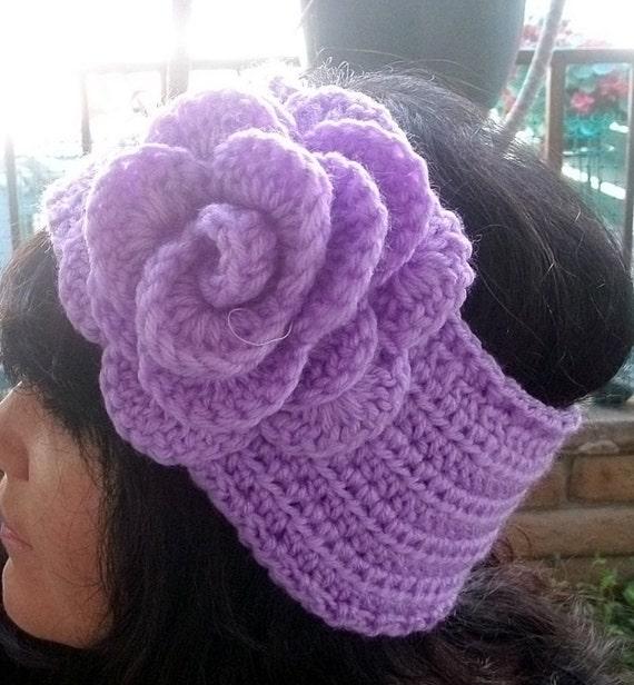 Crochet Head warmer/Earwarmer