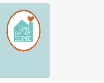 "Postcard - ""Home Sweet Home"""