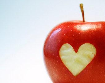 "Postcard - ""I heart Apples"""