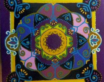 Indian Journey Mandala Original (8)