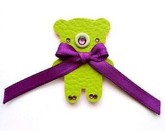 TEDDY IN GREEN