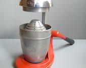 JUICE KING 1950's Red Vintage Juicer