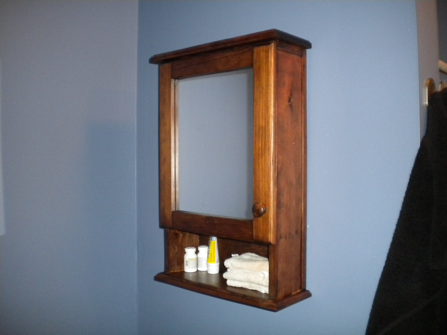 Mirrored Bathroom Medicine Cabinet By RaysCustomWoodwork