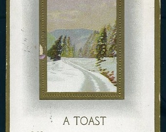 Digital Download-Postcard-A Toast-Womans Lies and Lies and Lies