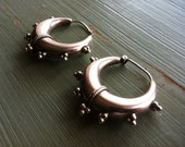 Sterling silver tribal earrings - Amita