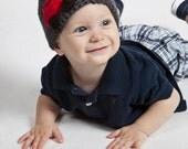 Crochet Baby Boy Hat with Car