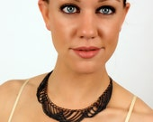 layered chain bib necklace // PIXANE aka the chain choker