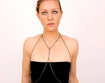 cross body jewelry, 100% chain // LORICA SEGMENTATA aka the harness
