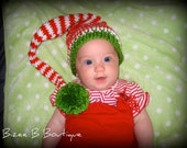 Instant Download - PDF Elf Hat PATTERN - permission to sell finished items - All sizes