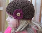 crochet hat girl woman