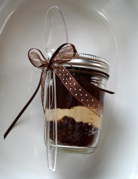 Salted Caramel Chocolate Cake - 8 Cake Jars