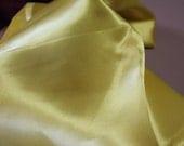 Soft Yellow Dressmaker Satin 1 2/3 yd