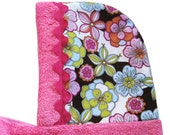 Sweet Pink Sherbet Hooded Towel -- For Kiddos, Toddlers, or Babies