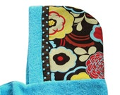 Aqua Mod Mocca Hooded Towel -- For Kiddos, Toddlers, or Babies