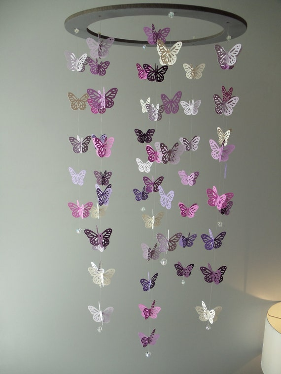Butterfly mobile - Can be customized