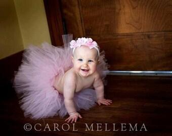 Newborn/ Infant Simple Short Tutu - you pick your color