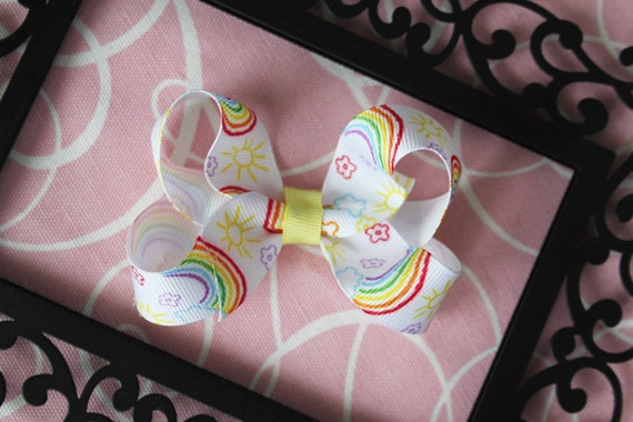 Medium rainbow Bow