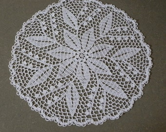 Lilly of the valley doily
