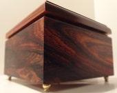 Cocobolo/RedHeart Keepsake Box