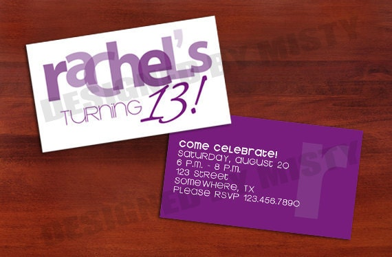 Doc Business Cards Invitations Custom Invitations Make Your – Business Card Invitations