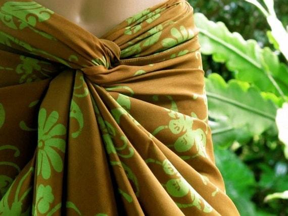 Sarong, Beach Sarong, Pareo, Plus Size Scarf, Wrap Skirt