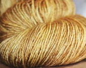 "DogEared Dyeworks 50/50 "" Straw into Gold"""