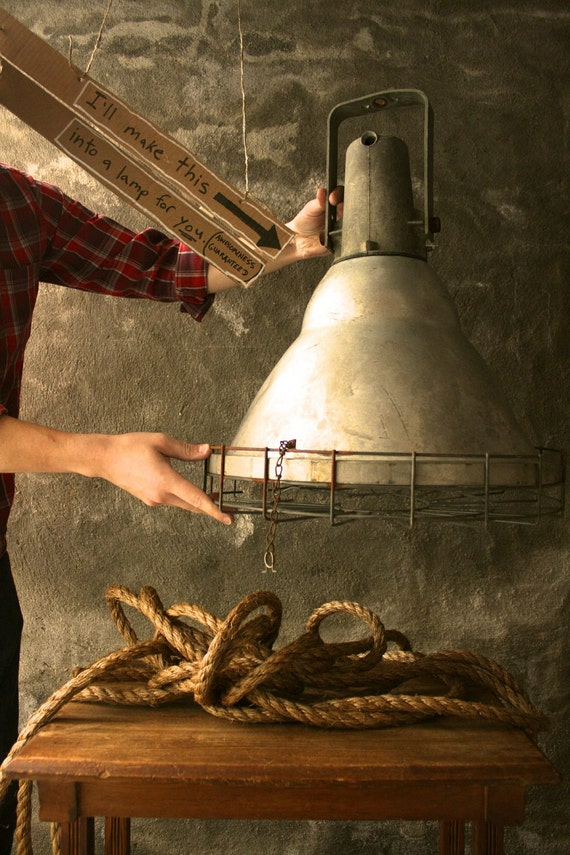 Items Similar To Lighting Lamp Industrial Light Chandelier
