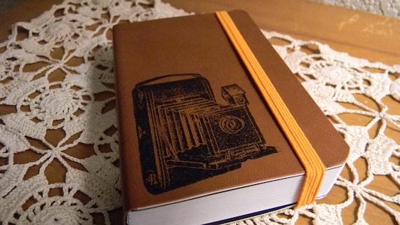 Vintage Old Camera Pocket Journal Sketch Book Pad