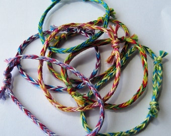 Friendship Bracelets Set of 3 Random