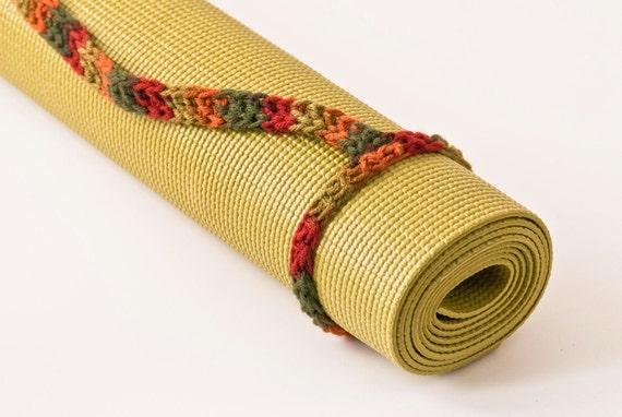 Yoga Mat Strap, Fall, Slim Tote Handle - US Shipping Included Original HH Design
