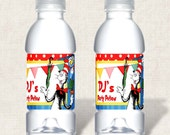 Items Similar To Dr Seus Birthday Party Water Bottle