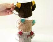 Coffee mug cozy/ cup cosy/ mug sweater