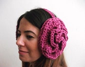 Earmuffs by giZZdesign, rose