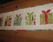 Festive Table Runner, Christmas Presents