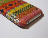 Knit iphone 3gs Case / iPhone 3G , iphone 3 Cover Decoupage