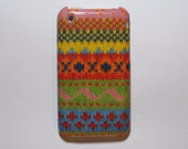 crochet iphone 3gs Case / iPhone 3G , iphone 3 Cover Decoupage