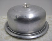 Vintage Aluminum Cake Cover or Saver