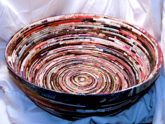 Large magazine bowl