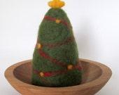 Needle Felted Christmas Tree