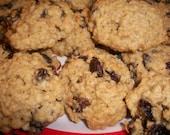 Homemade Oatmeal Raisin Cookies - 2 dozen