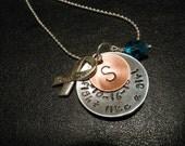 Hand Stamped Survivor Necklace