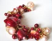 Cupid - Beautiful and unique handmade charm bracelet
