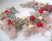 Sugar Plum - Beautiful and unique handmade charm bracelet