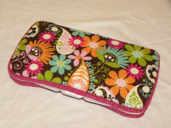 Baby Girl Wipes Case